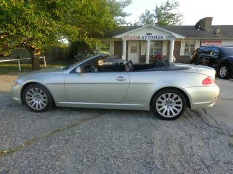 2005 Bmw 6 Series 645ci 2dr Convertible Coupe 05 630 635 640 645 650 Special Bank Or