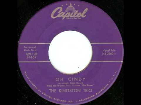 The Kingston Trio - Oh Cindy (Single Release)