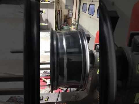 Straightened alloy wheel 2