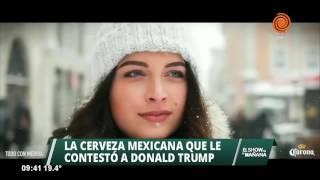 Cerveza mexicana le responde a Donald Trump #Mexico thumbnail