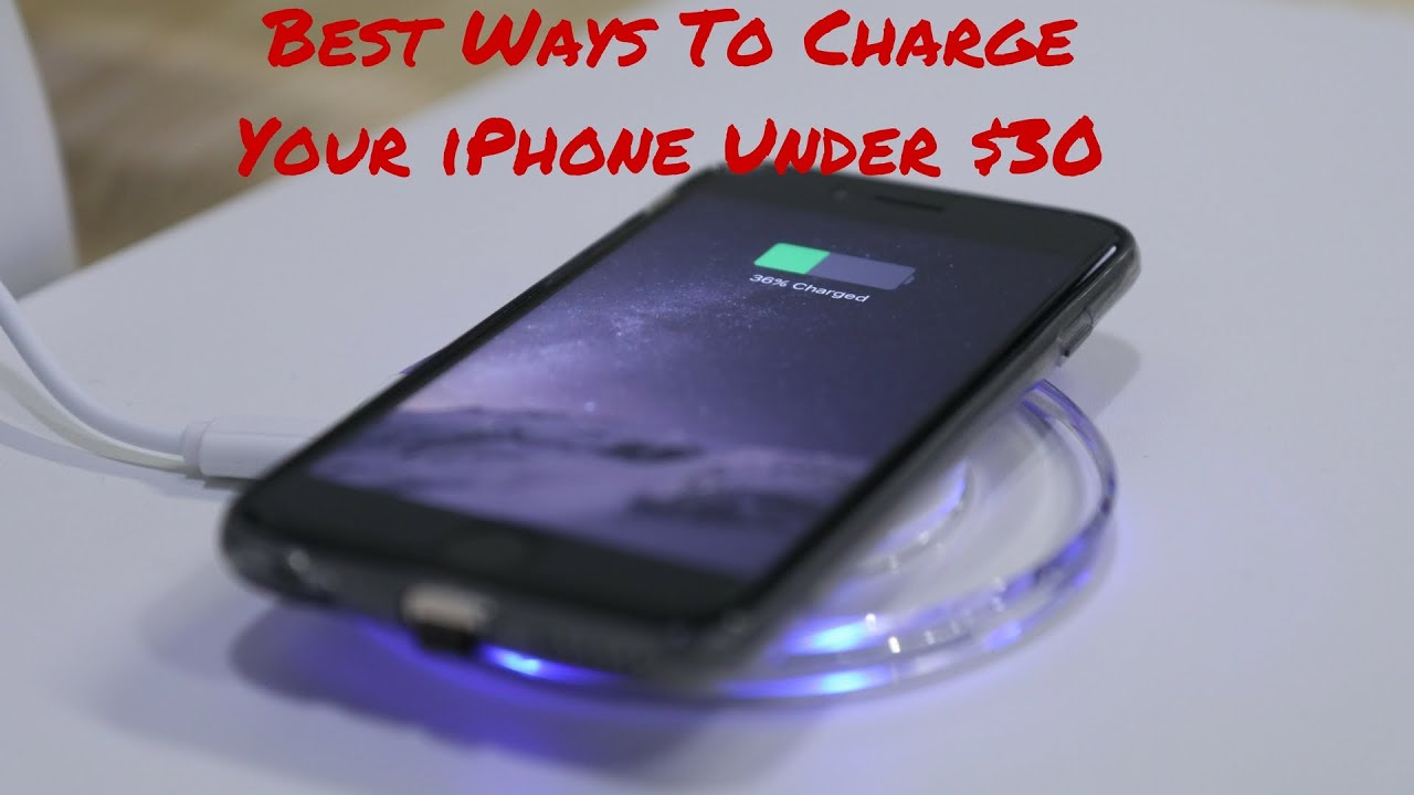 Alternative Ways To Charge Iphone
