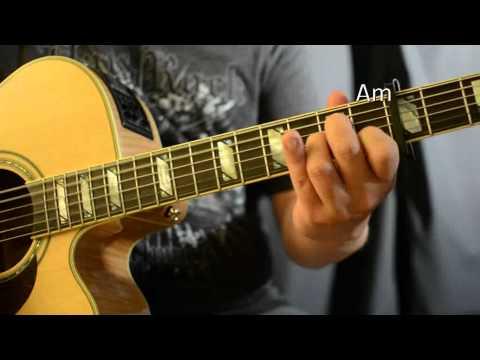 Triggerfinger / Lykke Li - Follow Rivers - Guitar Lesson - Chords