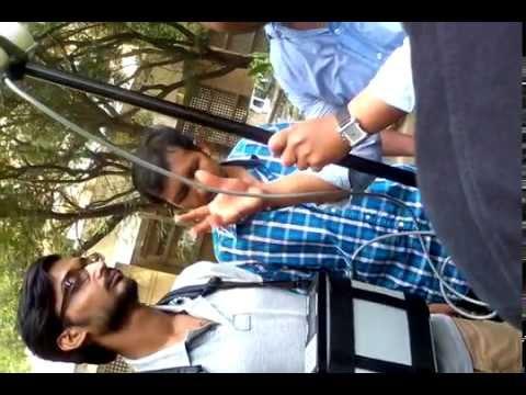 Magnetic survey using proton precession magnetometer @ IIT Bombay hindi