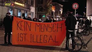 Demonstration in Tübingen gegen Abschiebungen nach Afghanistan
