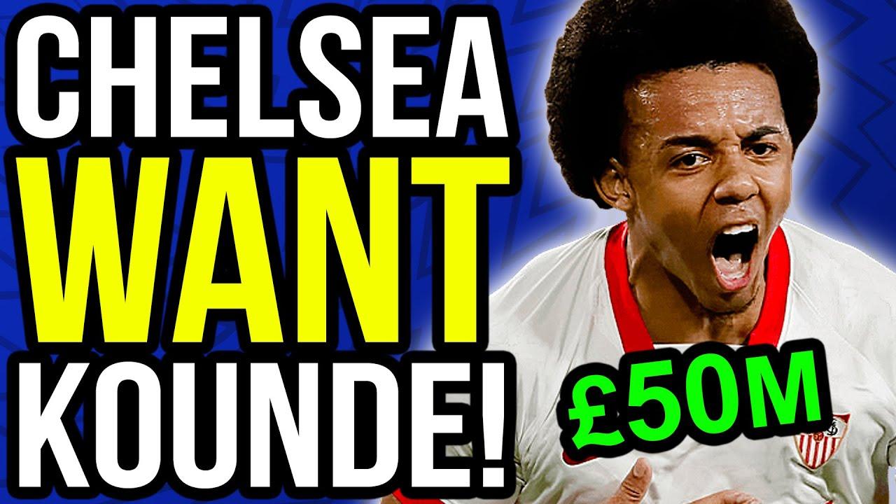 Chelsea OPEN TALKS with Jules Kounde for £50M Transfer! - Chelsea Transfer News