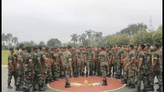 Yel yel Yonif Para Raider 328/Dirgahayu