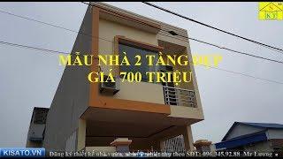 Thăm Quan Mẫu Nhà 2 Tầng Đẹp Diện Tích 5x20m Giá 700 Triệu Tại Sông Công Thái Nguyên