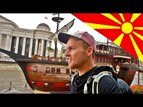 I'M IN MACEDONIA! 🇲🇰 WAIT, WHERE IS MACEDONIA?