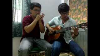 Nhớ Mưa Mỹ Linh- M4U (guitar and harmonica cover)