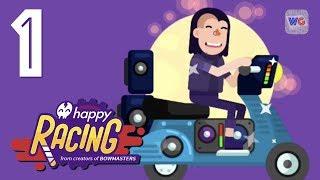 Happy Racing - Crazy in Wheelchair - Gameplay Walkthrough Part 1 - Online Race Match