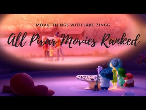 All 19 Pixar Movies RANKED