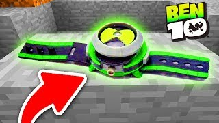 ENCONTRAMOS O OMNITRIX DO BEN 10 NUMA CAVERNA DO MINECRAFT ! (PARTE 1 )