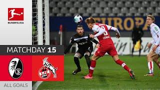 #scfkoe | highlights from matchday 15!► sub now: https://redirect.bundesliga.com/_bwcs watch all goals of sc freiburg vs. 1. fc köln 15 2020...
