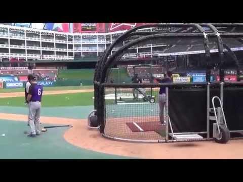 Colorado Rockies Batting Practice!