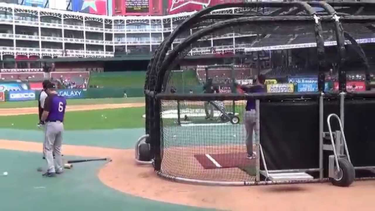 01cb36933 Colorado Rockies Batting Practice! - YouTube