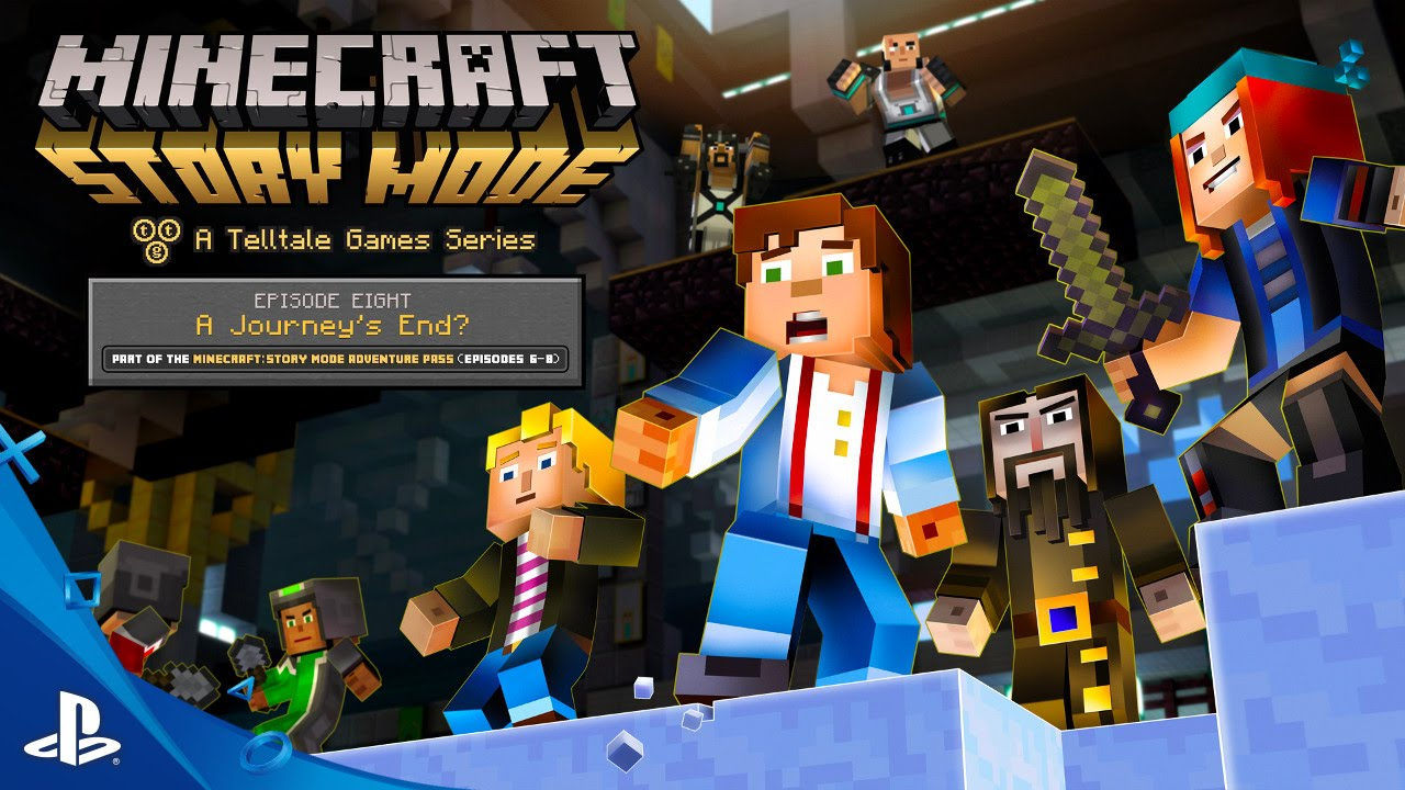 Minecraft: Story Mode - Episode 8: 'A Journey's End?' Trailer | PS4, PS3