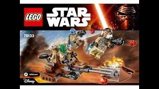 LEGO® Star Wars 75133 Боевой набор Повстанцев . Инструкция по сборке