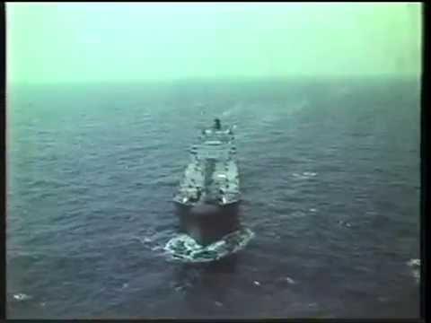 Beryl Field - Tanker Loading in the North Sea- UK Industrial Film