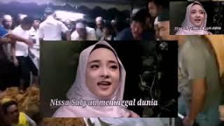 innna lilahi Nisa Sabyan meninggal dunia prestasimu akan selalu dikenang pendaki indonesia