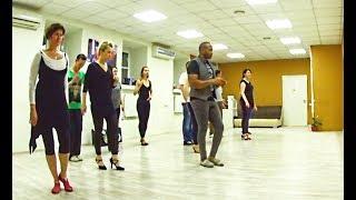 Футворк бачата (шаги). Средний уровень обучения. A4G Dance Studio