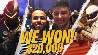 We WON the $20K Code Red Tournament!! Ft. Reverse2k (Fortnite BR Full Game)