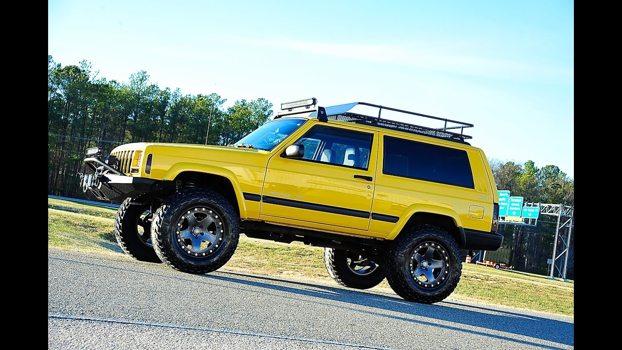 Davis AutoSports VERY RARE 2 DOOR CHEROKEE SPORT XJ FOR SALE / LIFTED /  STAGE 3 PLUS A MUST SEE   YouTube