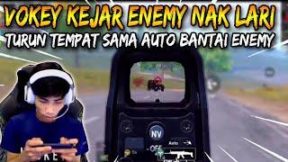 Vokey Kejar Enemy Nak Lari | Turun Tempat Sama Auto Bantai Enemy Ft. Sane Ft. Snipe Ft. ImZiso PUBG
