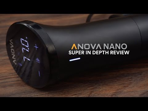 Anova NANO Sous Vide In Depth Review!