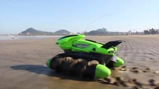 Flytec Sand Lake Pool Grass Snow Slippery Road High Speed RC Tank Boat thumbnail