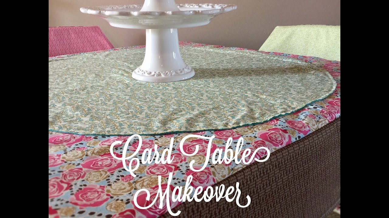 How to sew a table cloth