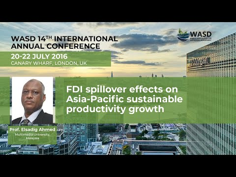 FDI spillover effects on Asia-Pacific sustainable productivity growth