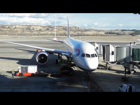 British Airways Boeing 787-9 Dreamliner | London Heathrow to Madrid *FULL FLIGHT*