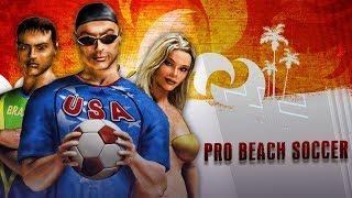 ¿CONOCÍAIS ESTE JUEGO DE FÚTBOL PLAYA? | Pro Beach Soccer (Gameplay PS2)