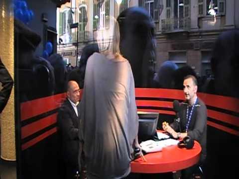 Tiziana Baudo con RTL 102.5 al 61° Festival di Sanremo,18.2.2011,Backstage.HQ