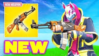 "NEW ARMA LEGENDARY ""AK-47"" and EXPLOSION of the CUBO in ARRIVO! New Skins! 🔴 Live Fortnite ITA"