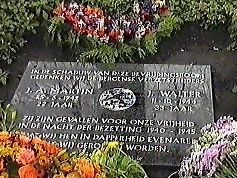 Gedenksteen '40 '45  & Dodenherdenking - 4 mei 1997 - filmmaker onbekend