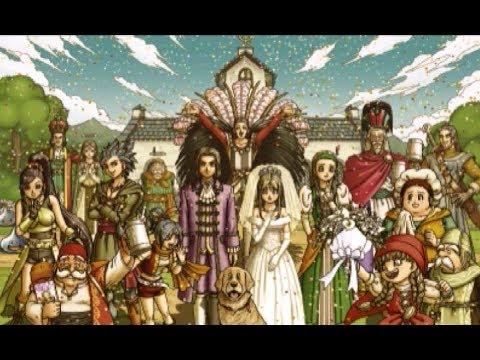 【ドット絵】ドラクエ11 エマとの結婚イベント DQXI【3DS】 - YouTube