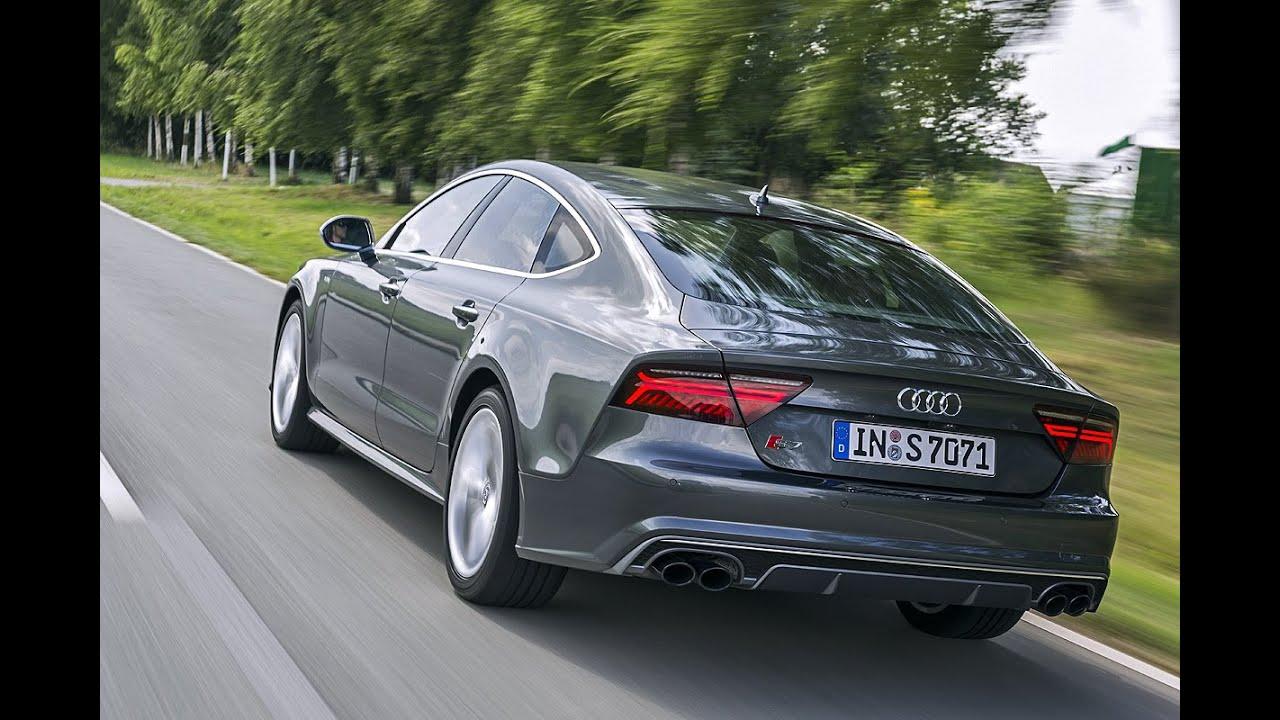 Audi S7 Facelift 2014 Erster Fahrbericht YouTube