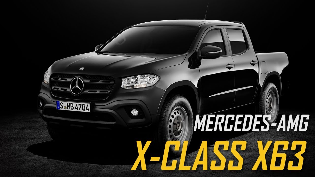2019 Mercedes-AMG X-Class X63 Pickup - YouTube