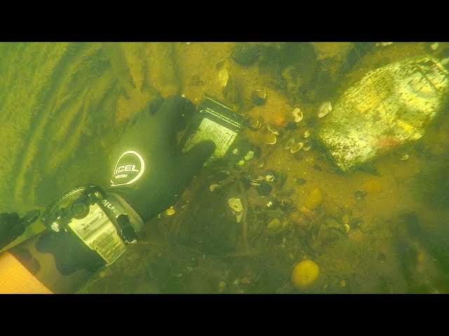 Scuba Diving the World's Largest Urban Whitewater Course for Lost GoPros! (Huge Item Found)