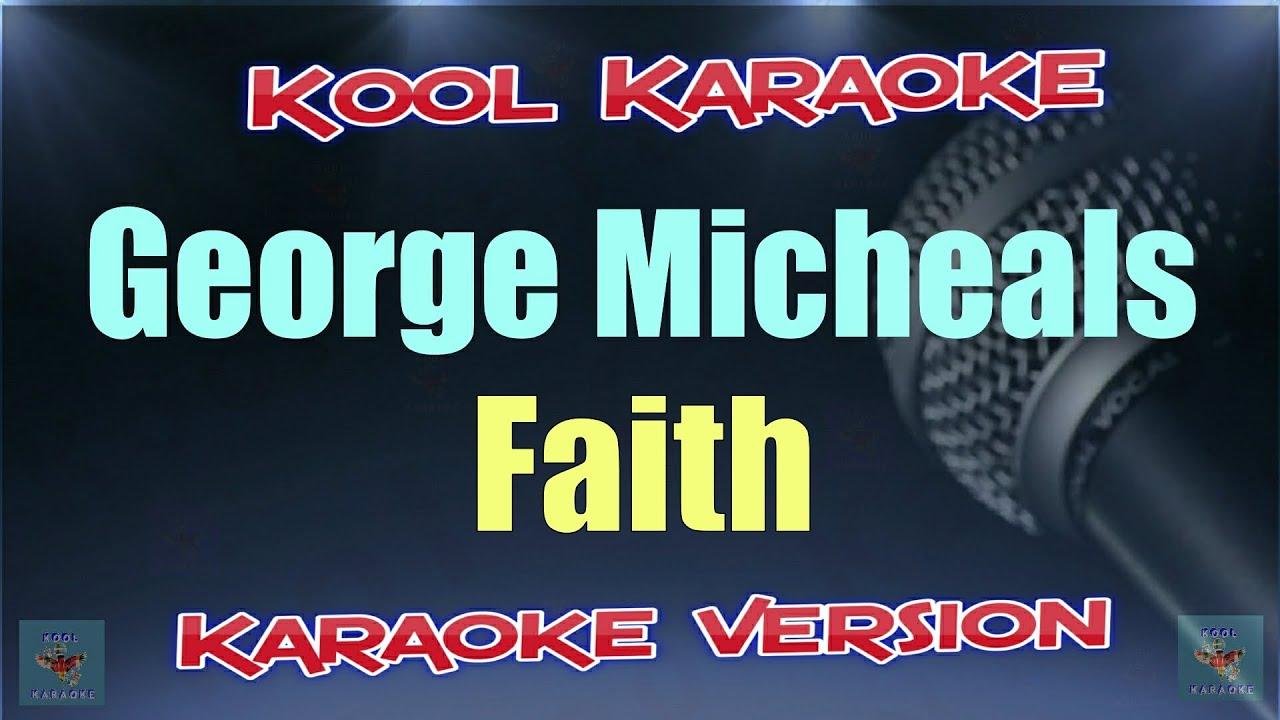 George Michaels - Faith (Karaoke Version) VT