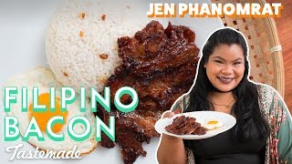 Filipino Bacon (Tocino) | Good Times with Jen