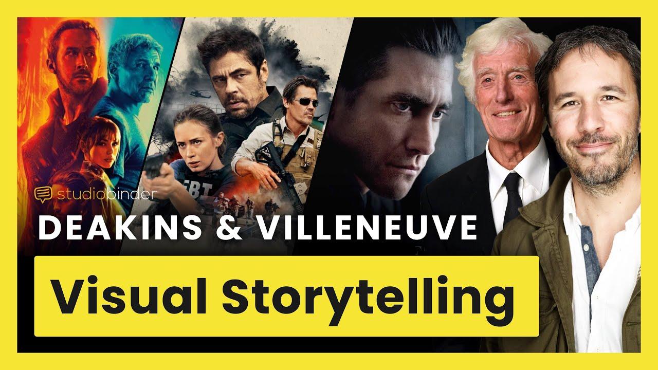 Download Villeneuve & Deakins on Visual Storytelling using Lighting, Composition, and Framing
