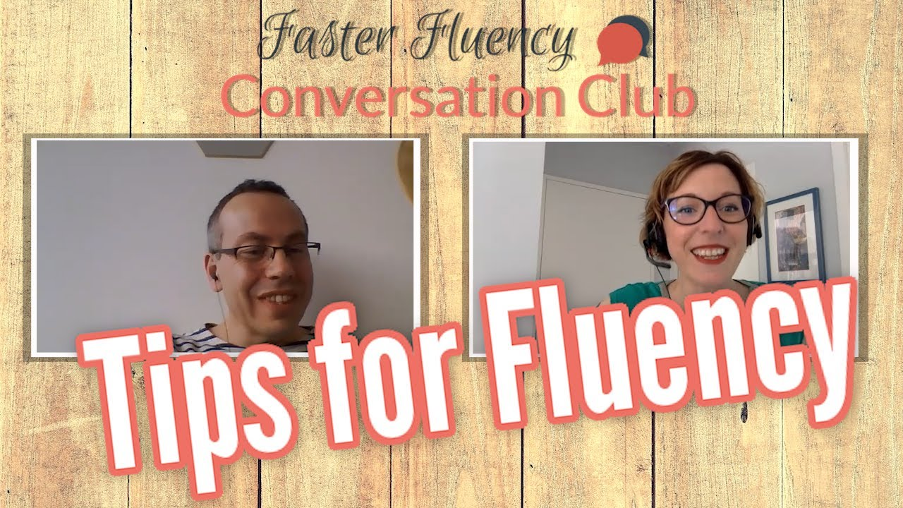 Become confident speaking English: Jacques' experience in Faster Fluency Conversation Club