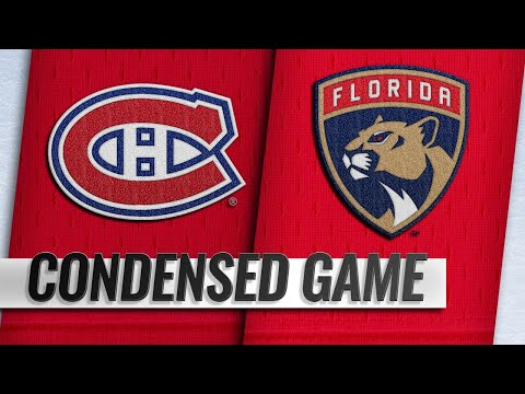 12/28/18 Condensed Game: Canadiens @ Panthers