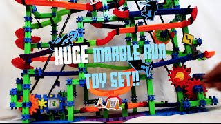 HUGE Marble Run Toy Set in ACTION! MARBLE MANIA / ToyPlayTV