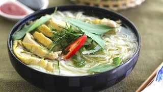 How to make Pho Ga (Vietnamese chicken Pho)