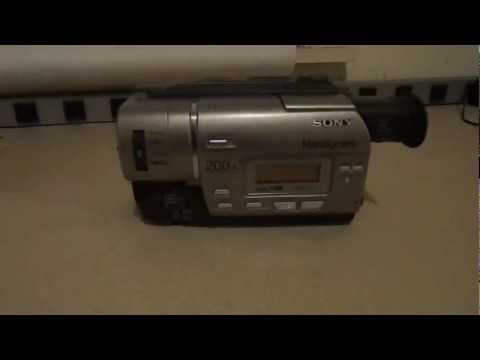 1999 Sony Handycam CCD-TR517