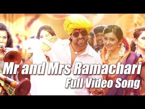 Mr & Mrs Ramachari - Title track Full Video Kannada Movie song Yash | Radhika Pandit | V Harikrishna