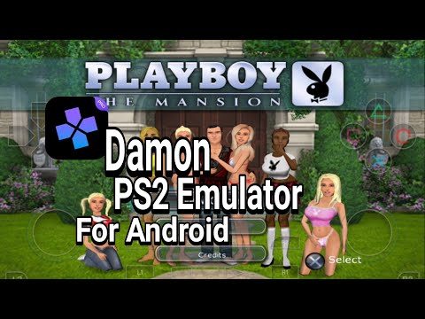 Damon PS2 Emulator For Android - Playboy The Mansion Gameplay On Android